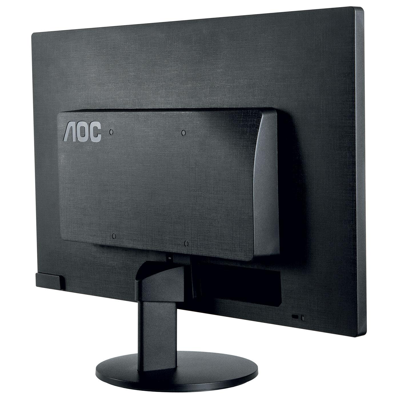 AOC - E2470SWDA - Ecran PC 23.6'' DVI,VGA et Hauts-parleur - Noir