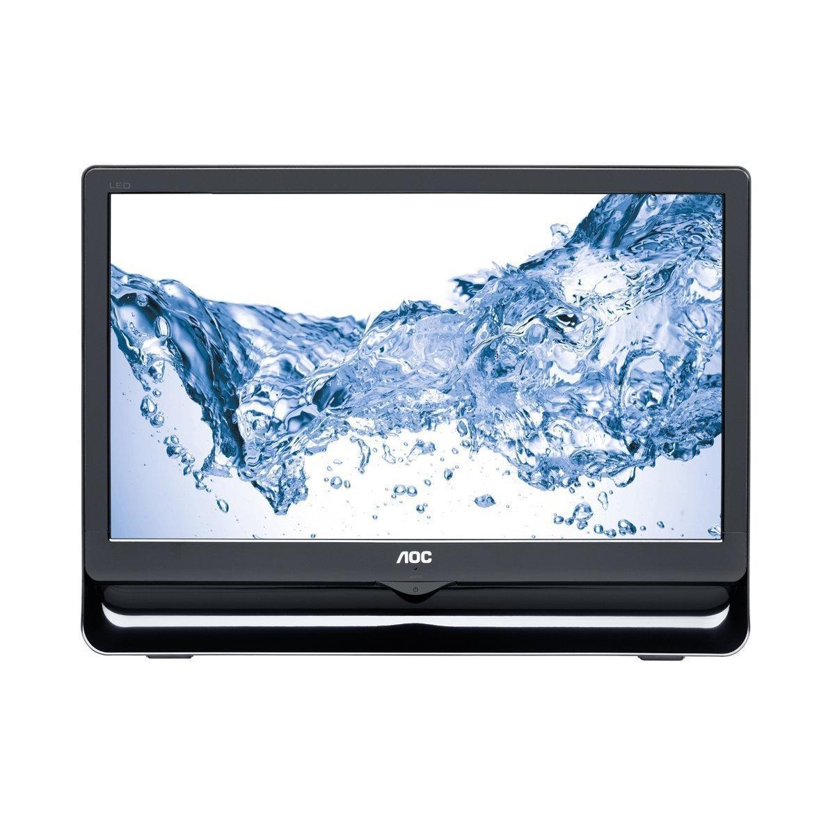 """AOC - E966SWN - Ecran PC 18.5"""" LED 1366 x 768 VGA - Noir"""