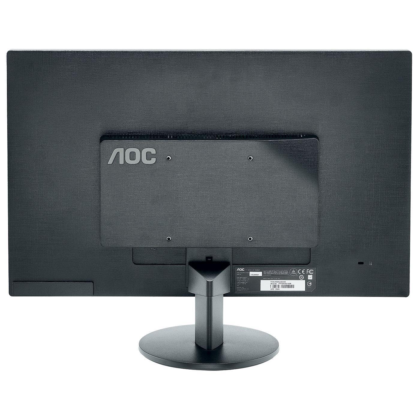 """AOC - E2770SHE - Ecran PC 27"""" Widescreen 2 x HDMI, VGA, Vesa - Noir"""
