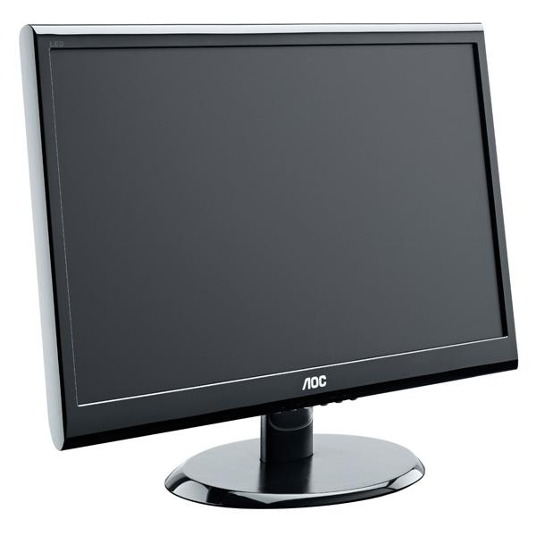 AOC - E2250SWNK - Ecran PC 21.5'' LED 600:1 200 cd/m2 - 1920x1080 - 5ms  - Noir