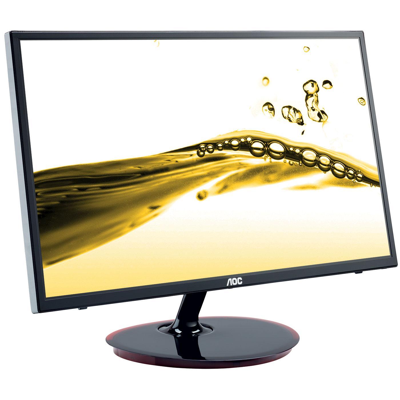 """AOC - E2461FWH - Ecran PC 23.6"""" Widescreen IPS  - Noir"""