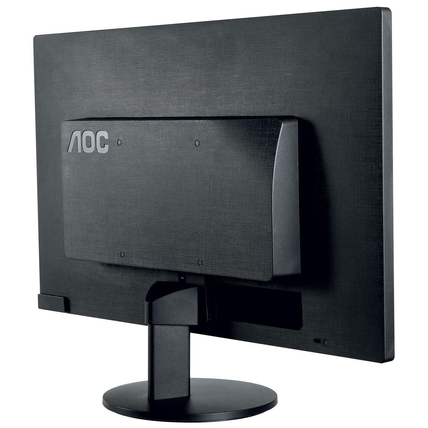AOC - E970SWN - Ecran PC 18.5'' LED 1366 x 768 VGA - Noir