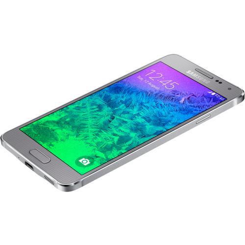 Samsung Galaxy Alpha 32 Go - Argent - Débloqué