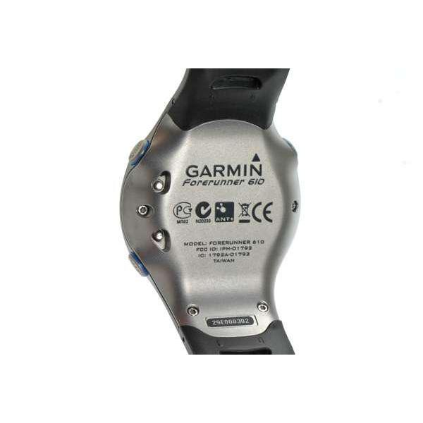 GARMIN Forerunner 610 GPS tactile HRM