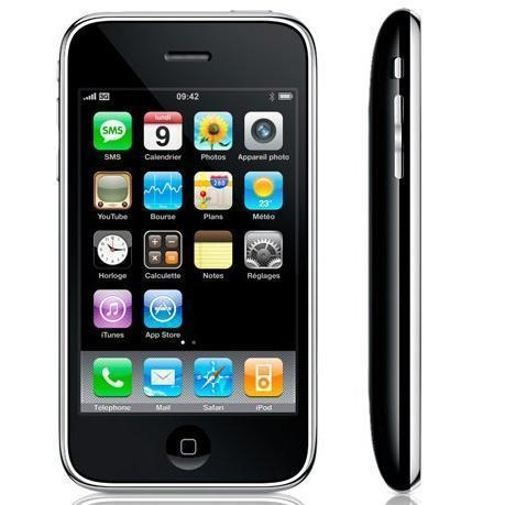 iPhone 3GS 8 Go - Noir - Bouygues