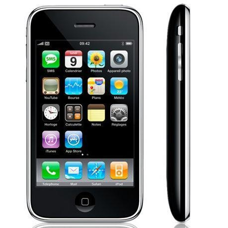 iPhone 3GS 8 Go - Noir - SFR
