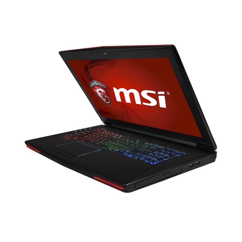 """Msi GT72 2QE 868XFR 17,3"""" I7 2,8 GHz  - SSD 256 Go + HDD 744 Go - RAM 16 Go- NVIDIA GEFORCE GTX 980M"""