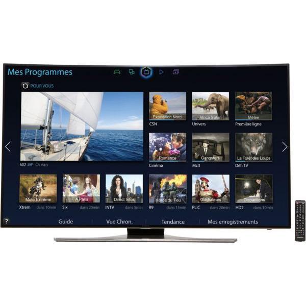 Smart TV LED 3D Full HD 138 cm Samsung UE55H6850 - incurvée