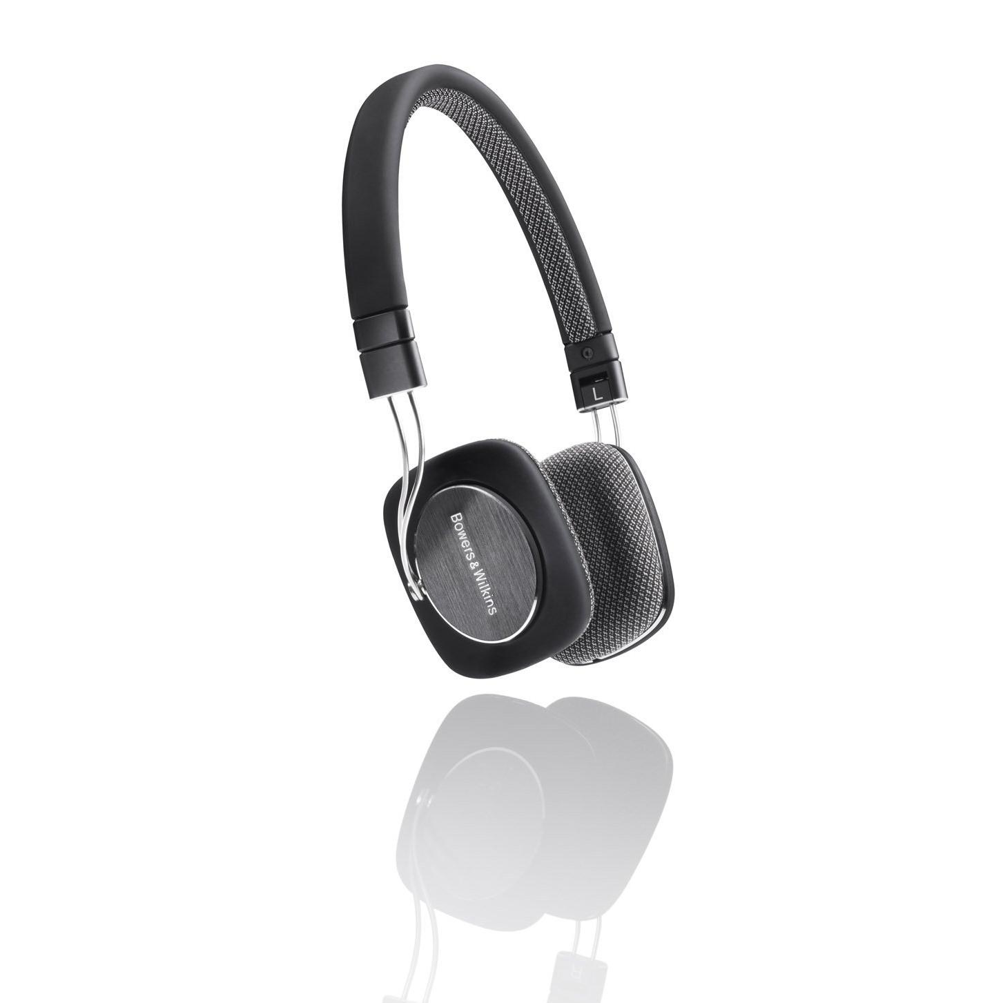 Casque Bowers & Wilkins P3 - Noir/Gris