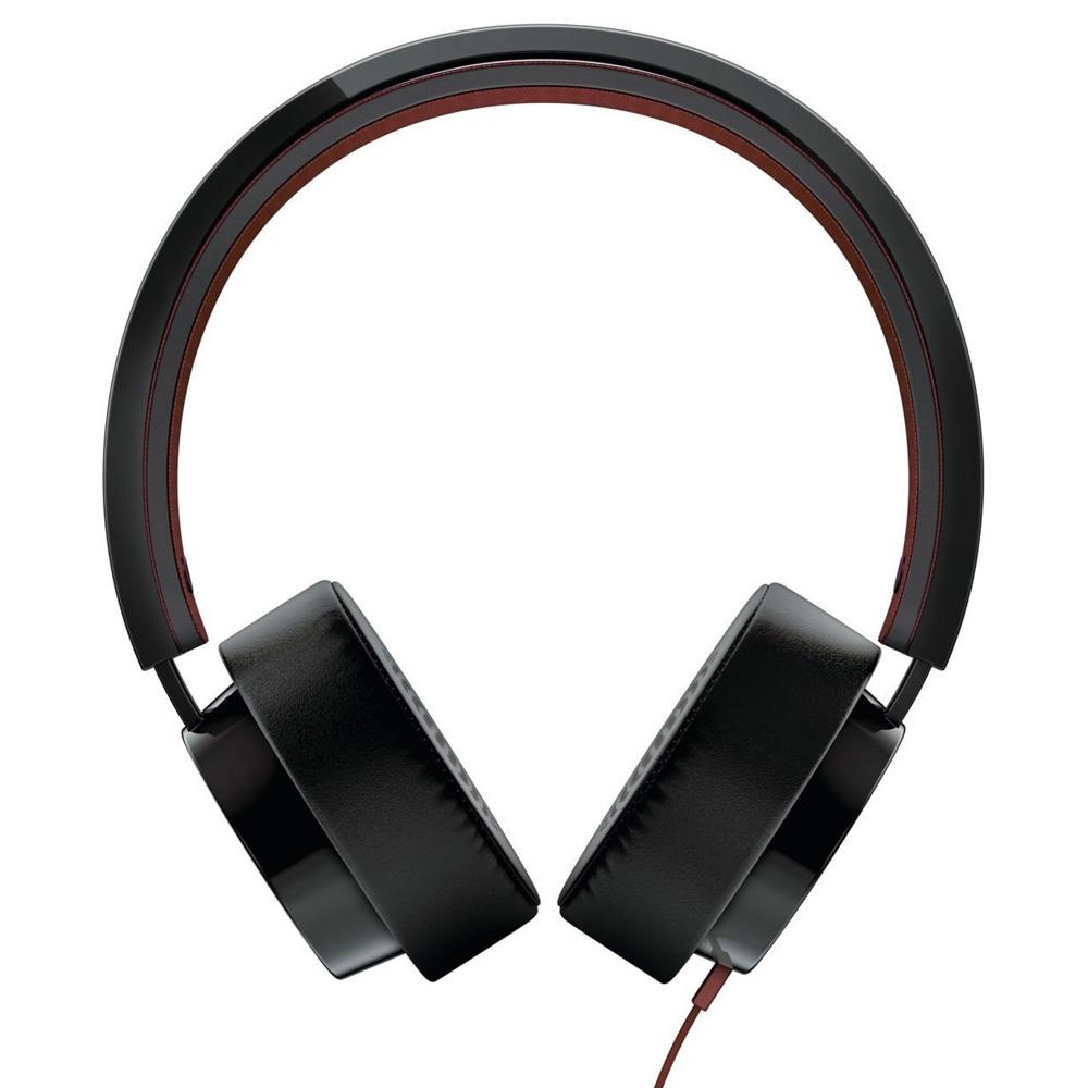 Casque Philips CitiScape Shibuya SHL5215BK/10 - Noir/Marron