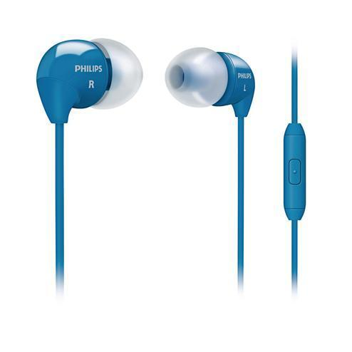 Ecouteurs Philips intra-auriculaires SHE3515BL/00 - Bleu