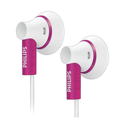 Ecouteurs Philips intra-auriculaires SHE3000PK/10 - Rose