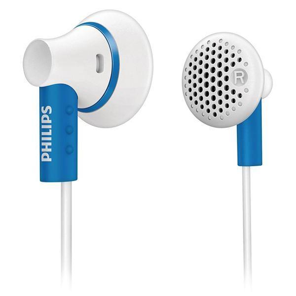Ecouteurs Philips intra auriculaires SHE3000BL/10 - Bleu