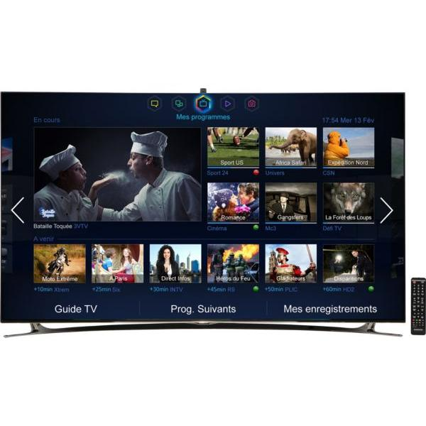 TV SAMSUNG UE55F8000SLXZF 3D Smart TV 80