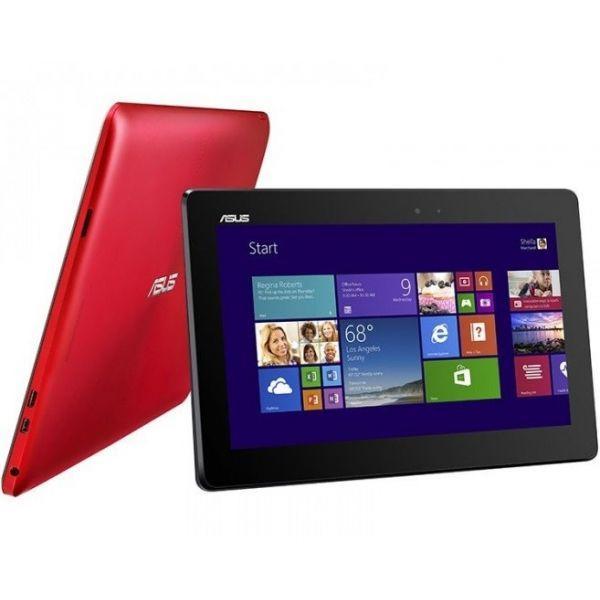 Asus T100TAF-BING-DK031B 10&quot, - Windows 8.1 - 32Go - Rouge - Tablette Multimedia Tactile