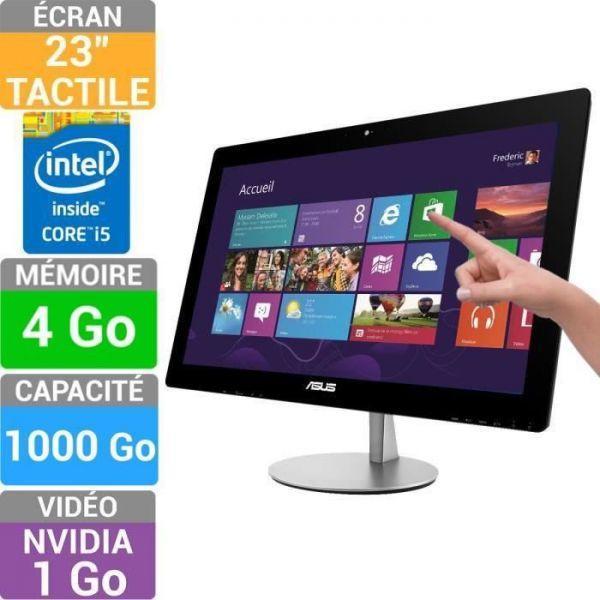 Asus ET2322INTH-B007Q -  1,6 GHz - HDD 1000 Go - RAM 4 Go