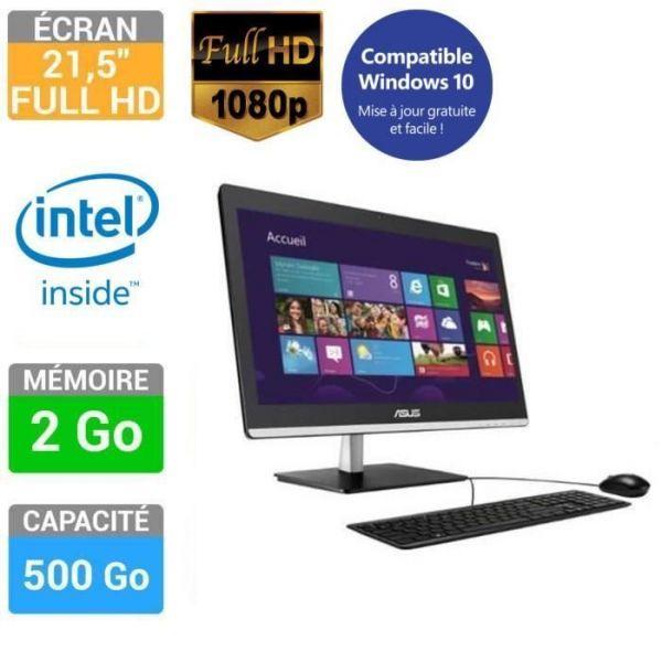 Asus ET2232IUK-BC021V - J1800 2,41 GHz - HDD 500 Go - RAM 2 Go