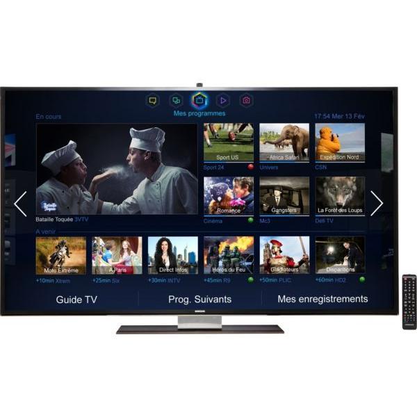 Smart TV LED 3D 4K Ultra HD 140 cm Samsung UE55F9000