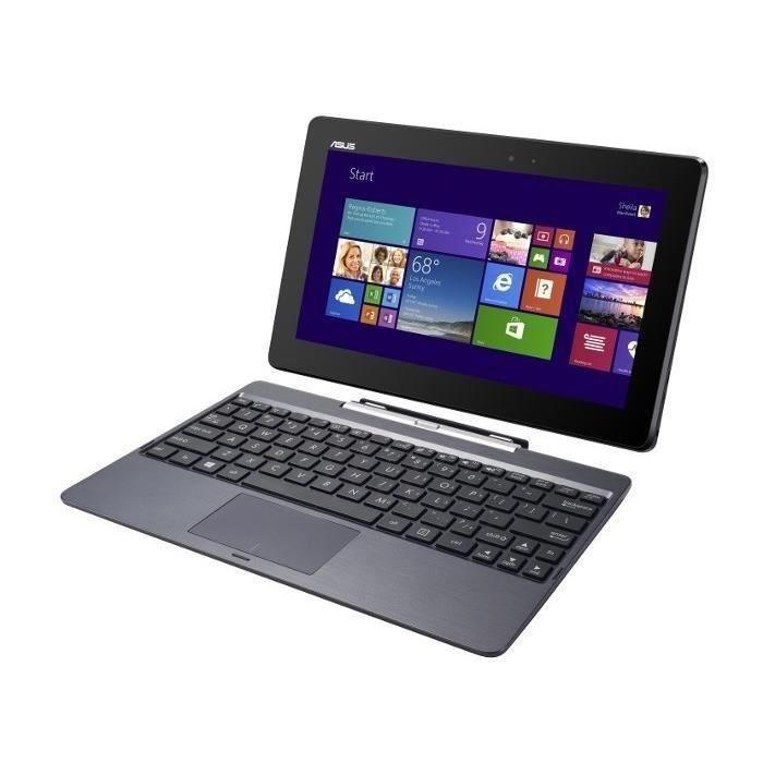 "Asus T100 TAF-BING-DK034B 10"" Intel Atom N.C GHz  - HDD 500 Go - RAM 2 Go"