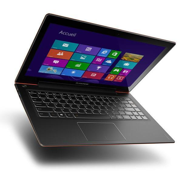 Lenovo IDEAPAD U330 TOUCH - Intel Core i5 1,7 GHz - SSD 128 Go - RAM 4 Go - AZERTY