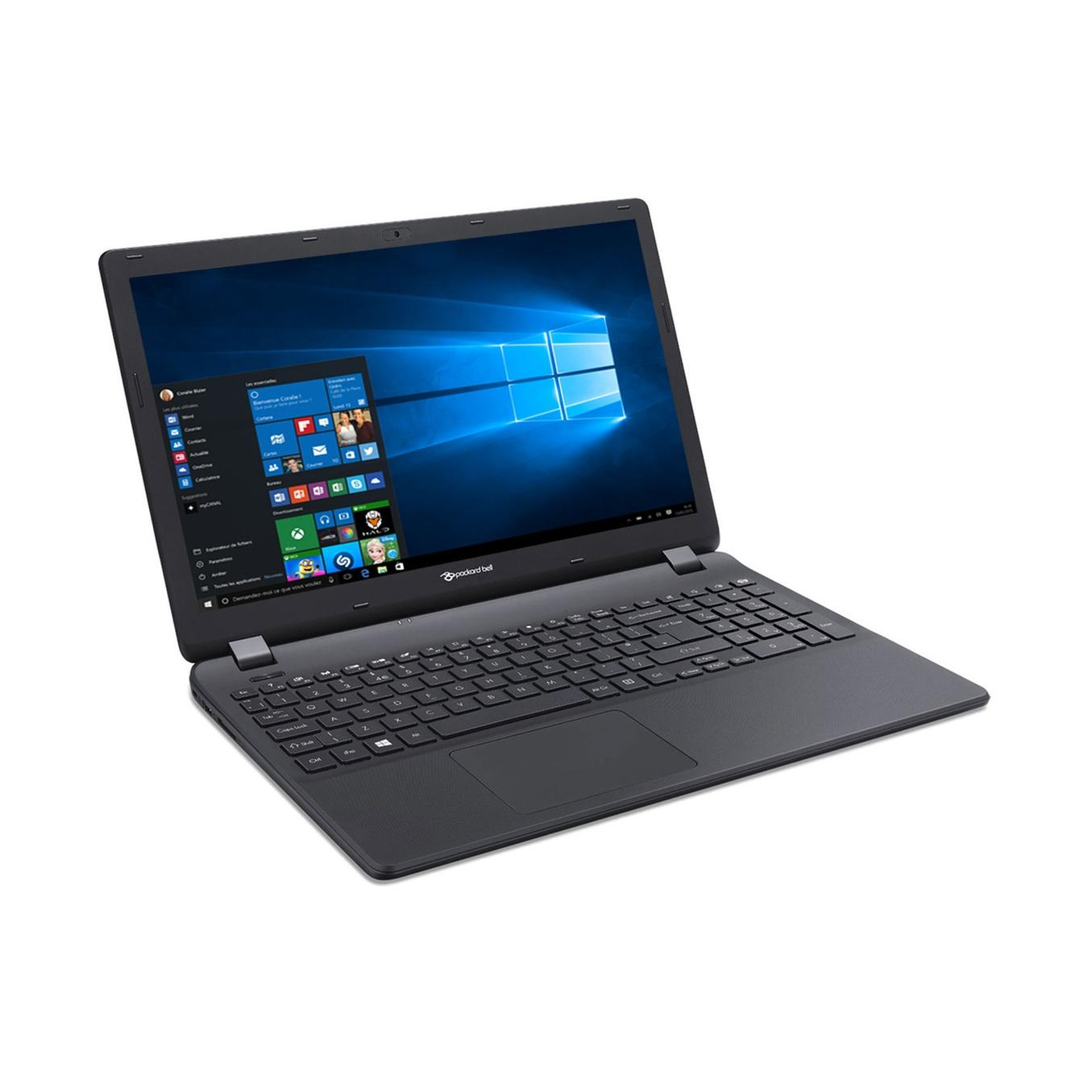 "Packard Bell TG81BA-C6T0 15"" Intel Celeron 1.6 GHz  - HDD 1 To - RAM 8 Go"