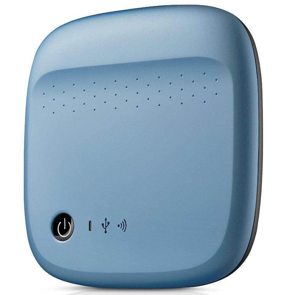 "Seagate Wireless 2.5"" 500 Go - Bleu"