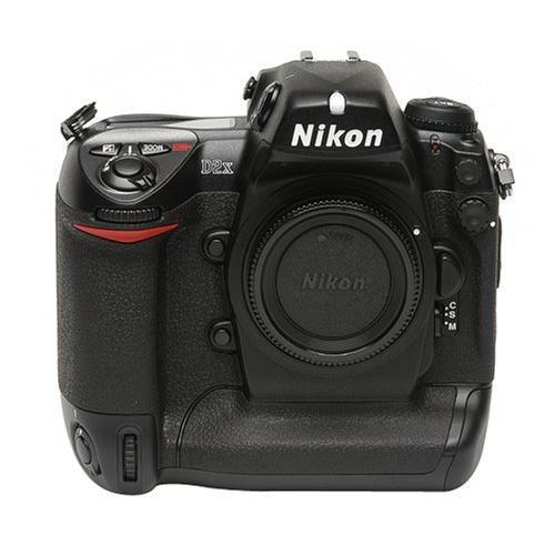 Nikon D2X Nu - Schwarz