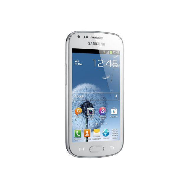 Samsung S7560 Galaxy Trend Blanc 4 Go Débloqué