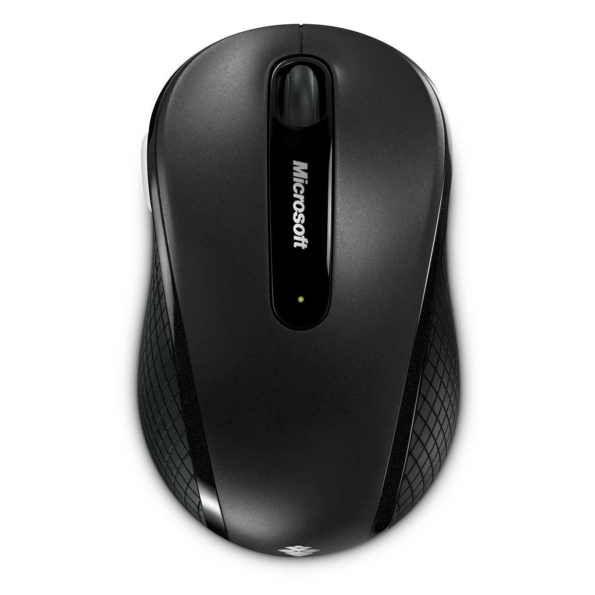 Souris Microsoft Wireless Mobile Mouse 4000 - Noir