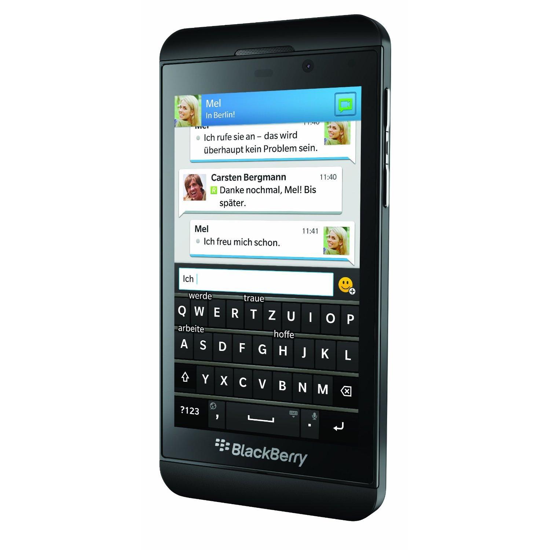 BlackBerry Z10 16GB - Schwarz - Ohne Vertrag