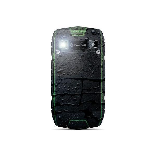 Smartphone tout terrain CROSSCALL Odyssey + Noir/Vert