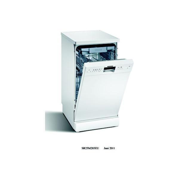 Lave-vaisselle 45cm SIEMENS SR25M283EU 10 couverts