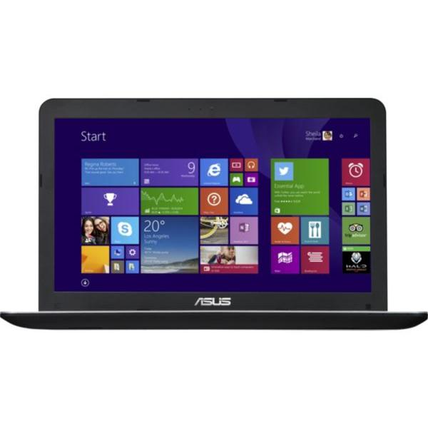 "Asus PC portable 15 et 16 pouces 15,6""  Intel Core i5-5200U : 2,2 GHz ; Turbo 2,7 GHz / 2 coeurs ; 4 threads / 3 Mo de mémoire cache GHz  - HDD 1 To - RAM 6 Go"