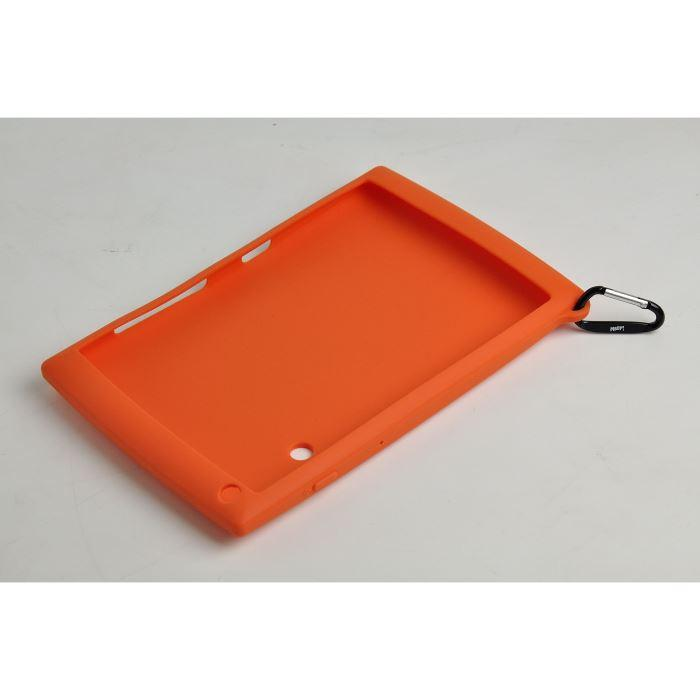 Oregon Scientific - OP011813BU - Coque de protection souple orange ou rose pour tablette MEEPX2