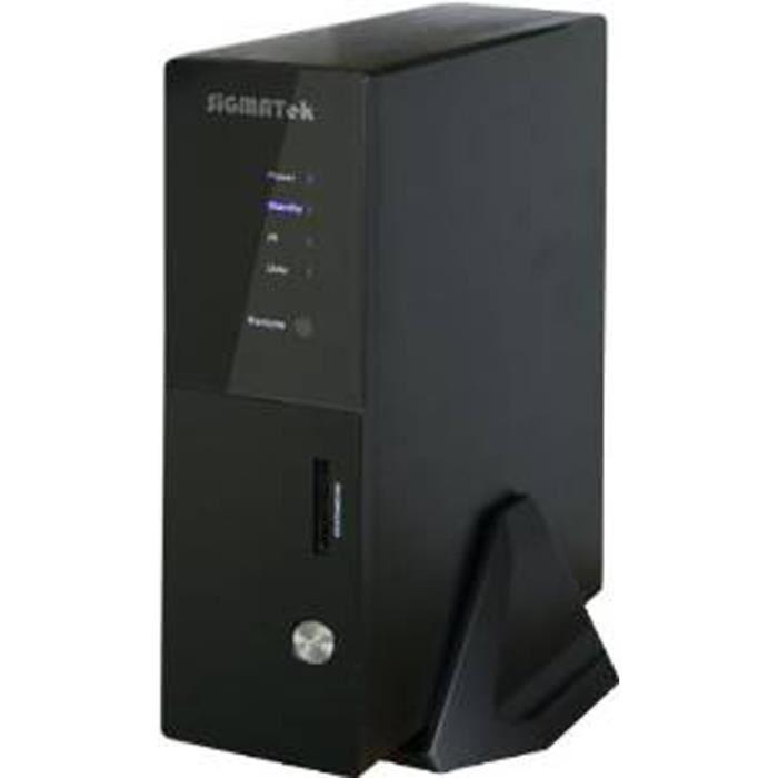 Sigmatek - Boîtier DD multimédia HD wifi - Xbay - WIFI/LAN - 1600S