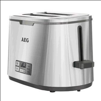 AEG - AT7800 - Grille pain avec rechauffe viennoiseries