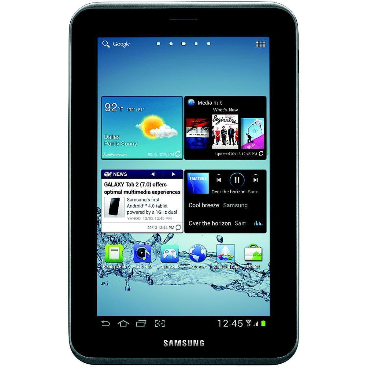 """Samsung Galaxy Tab 2 7"""" 8 GB - Plata - Wifi"""