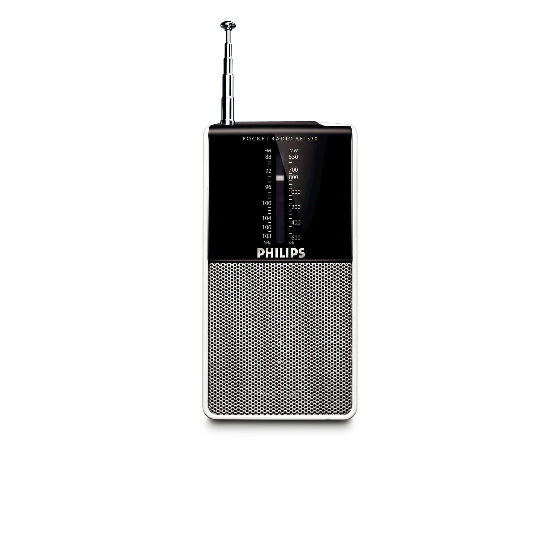 Philips Radio portable AE1530 de poche
