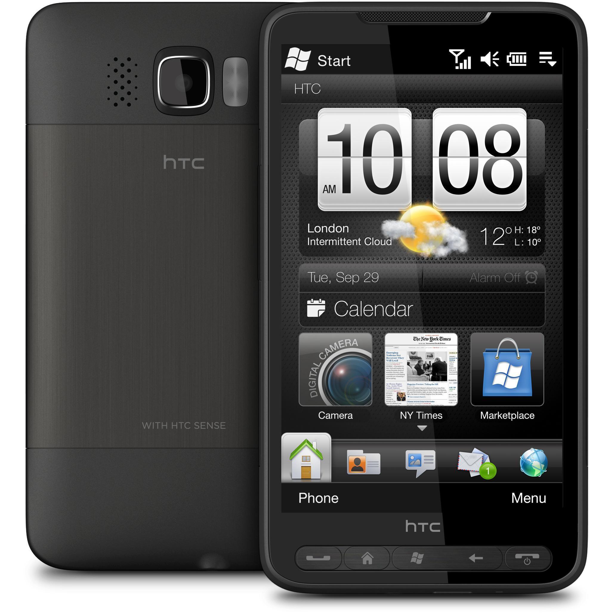 HTC HD2 - 512 Mo - Noir