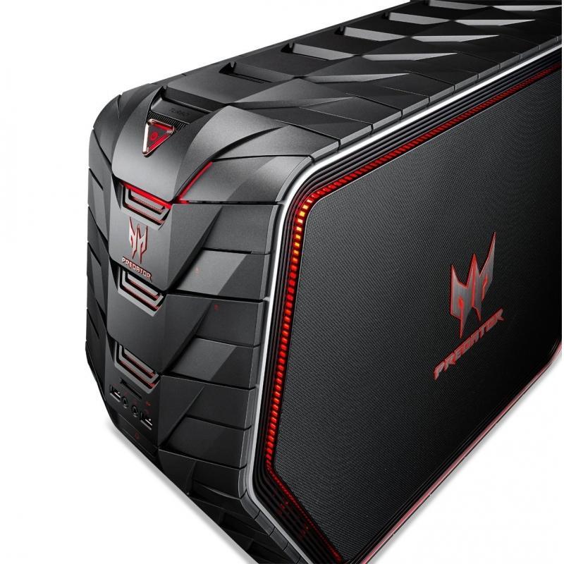 Acer Predator G6-710-009   4 GHz  - SSD 128 Go + HDD 872 Go - RAM 16 Go