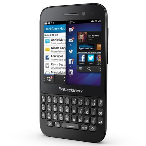 BlackBerry Q5 8 Go - Noir - Débloqué