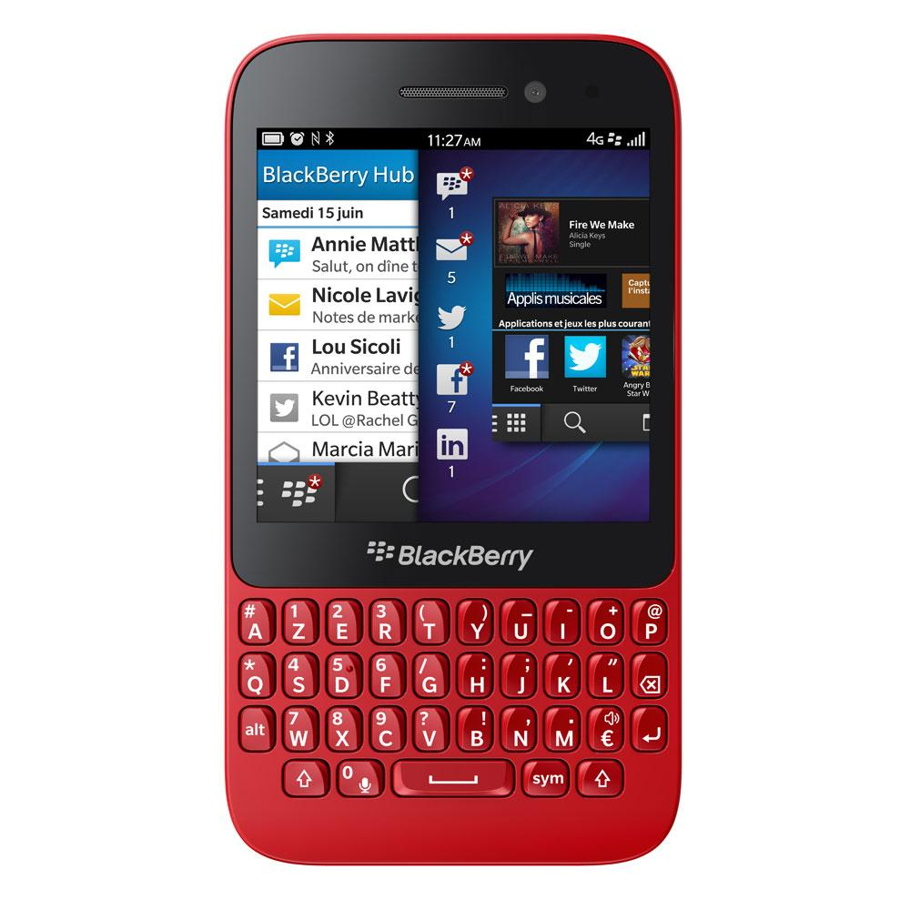 BlackBerry Q5 8 GB - Rojo - Libre