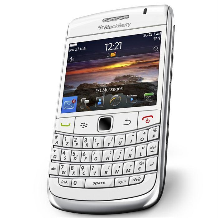 Blackberry Bold 9780 - Blanc - Débloqué