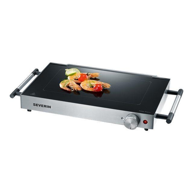 Severin - KG2385 - Barbecue gril verre de table