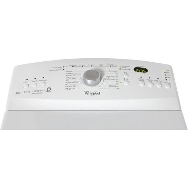 Lave-linge Top WHIRLPOOL AWE7210GG