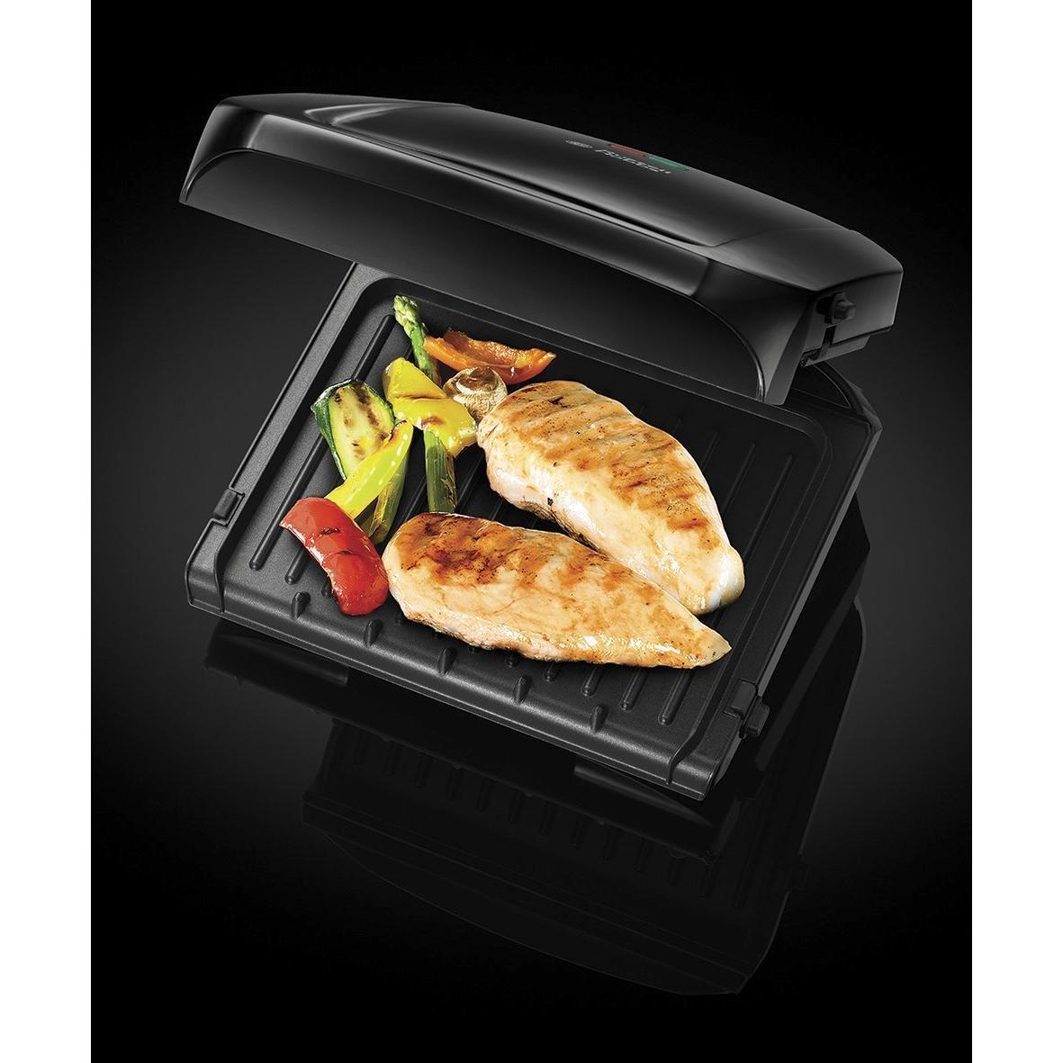 George Foreman - 20830 - Grill compact et réducteur de graisse 3 portions
