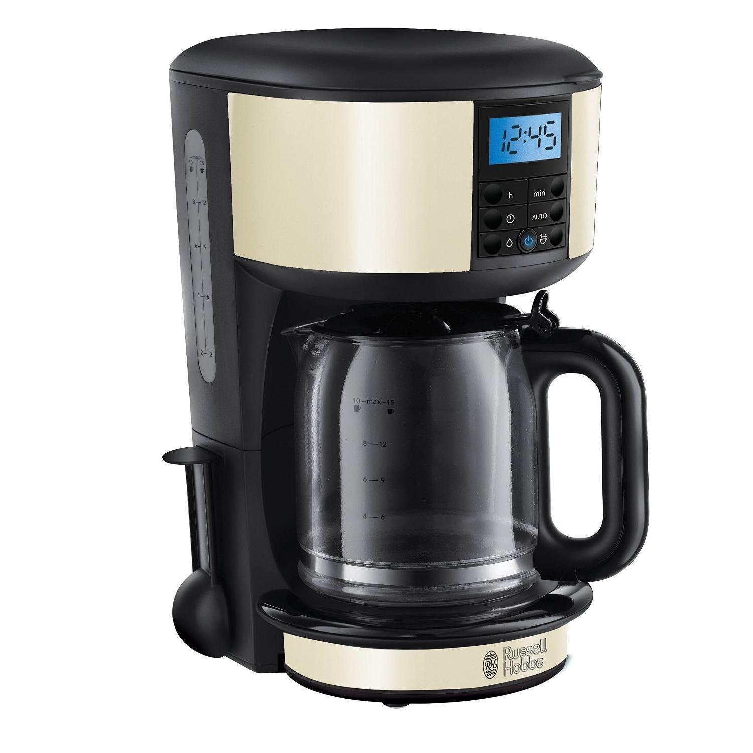 Russell Hobbs - 20683 - Cafetière programmable Legacy crème