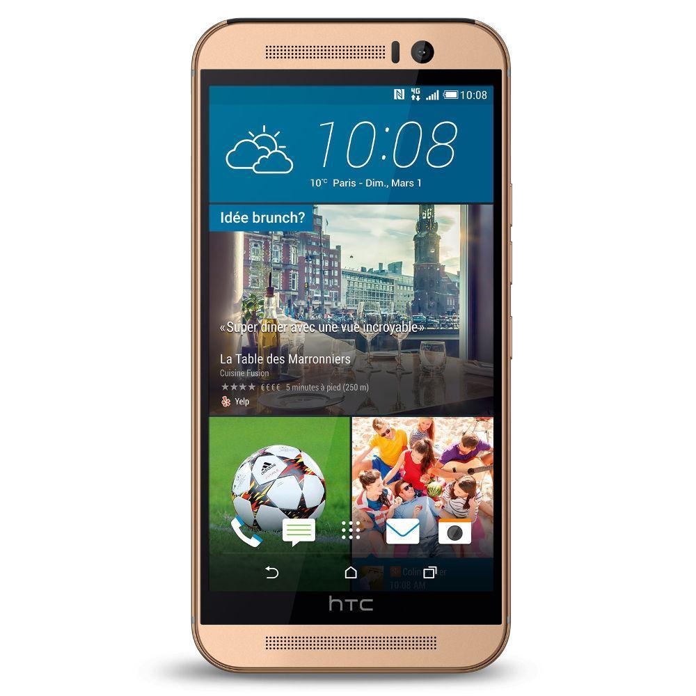 HTC One M9 32GB - Gold - Ohne Vertrag
