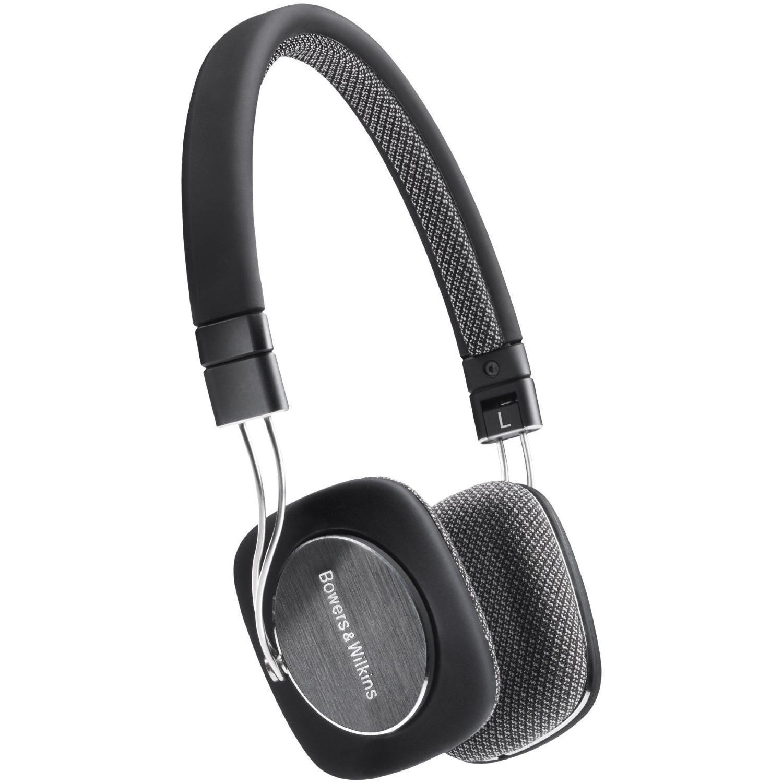 Casque audio Bowers & Wilkins P3 - Noir/Gris