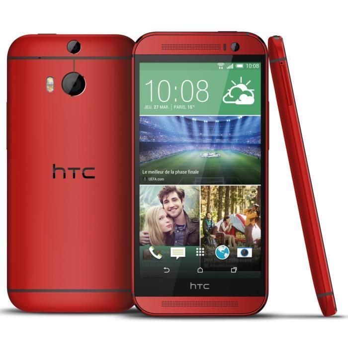 HTC One M7 32 Go - Rouge - Débloqué